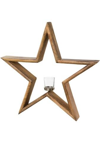 Kerzenhalter »Stern« (1 Stück) kaufen