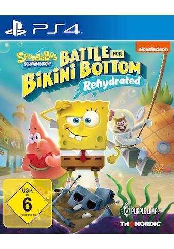 Spongebob SquarePants: Battle for Bikini Bottom PlayStation 4 kaufen