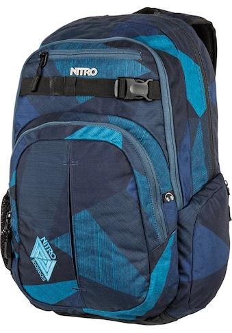 NITRO Schulrucksack »Chase Fragments Blue« kaufen