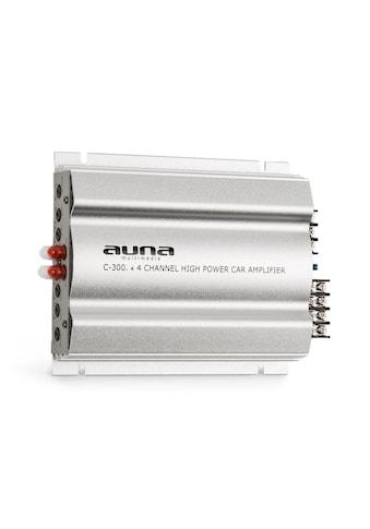 Auna 4-Kanal-Verstärker Auto-Endstufe 4x200 W Musik / 4x100 W RMS kaufen