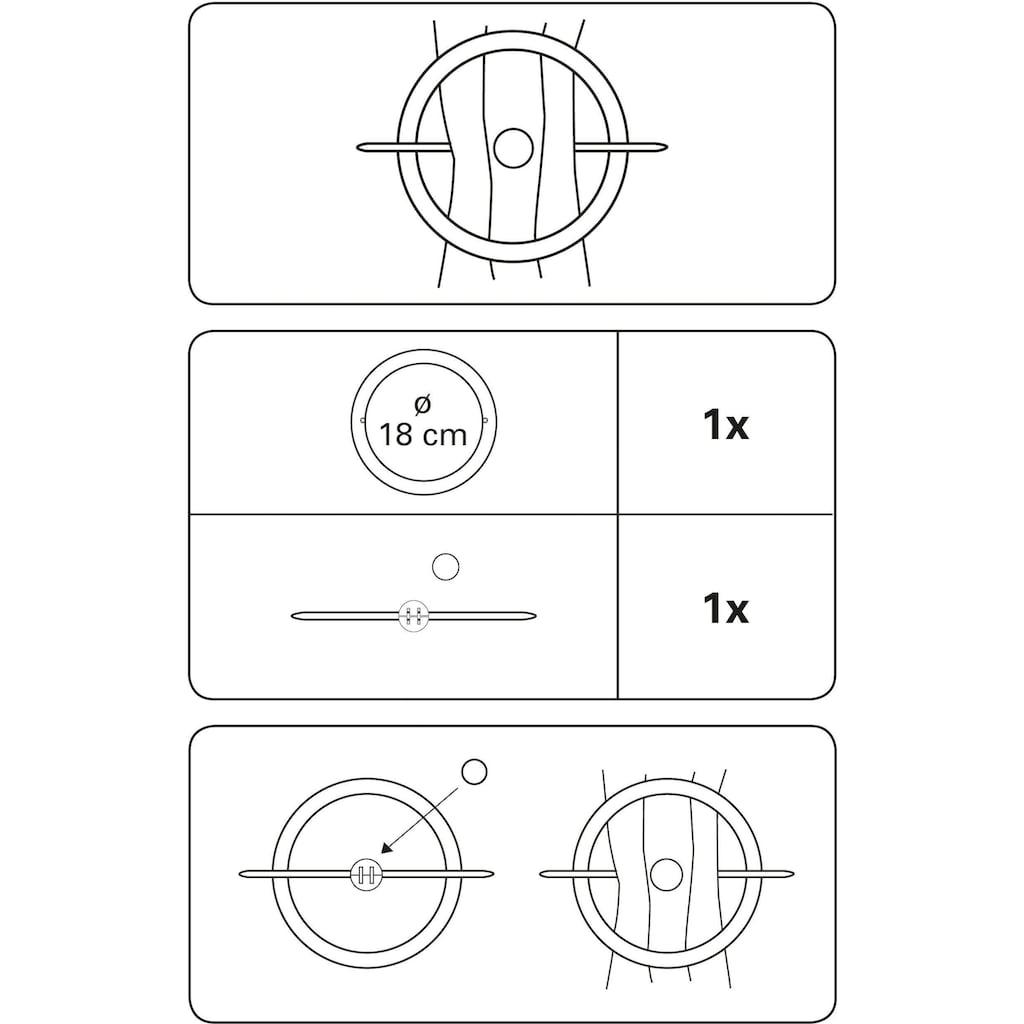 GARDINIA Dekoklammer »Dekoring mit Stab und Magnet«, (1 St.)