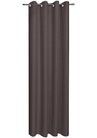 Gerster Vorhang »Mara«, HxB: 235x140, Ösenschal aus groben Dekostoff kaufen