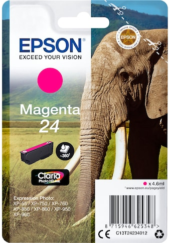 Epson Tintenpatrone »Tinte Singlepack Magenta 24« kaufen