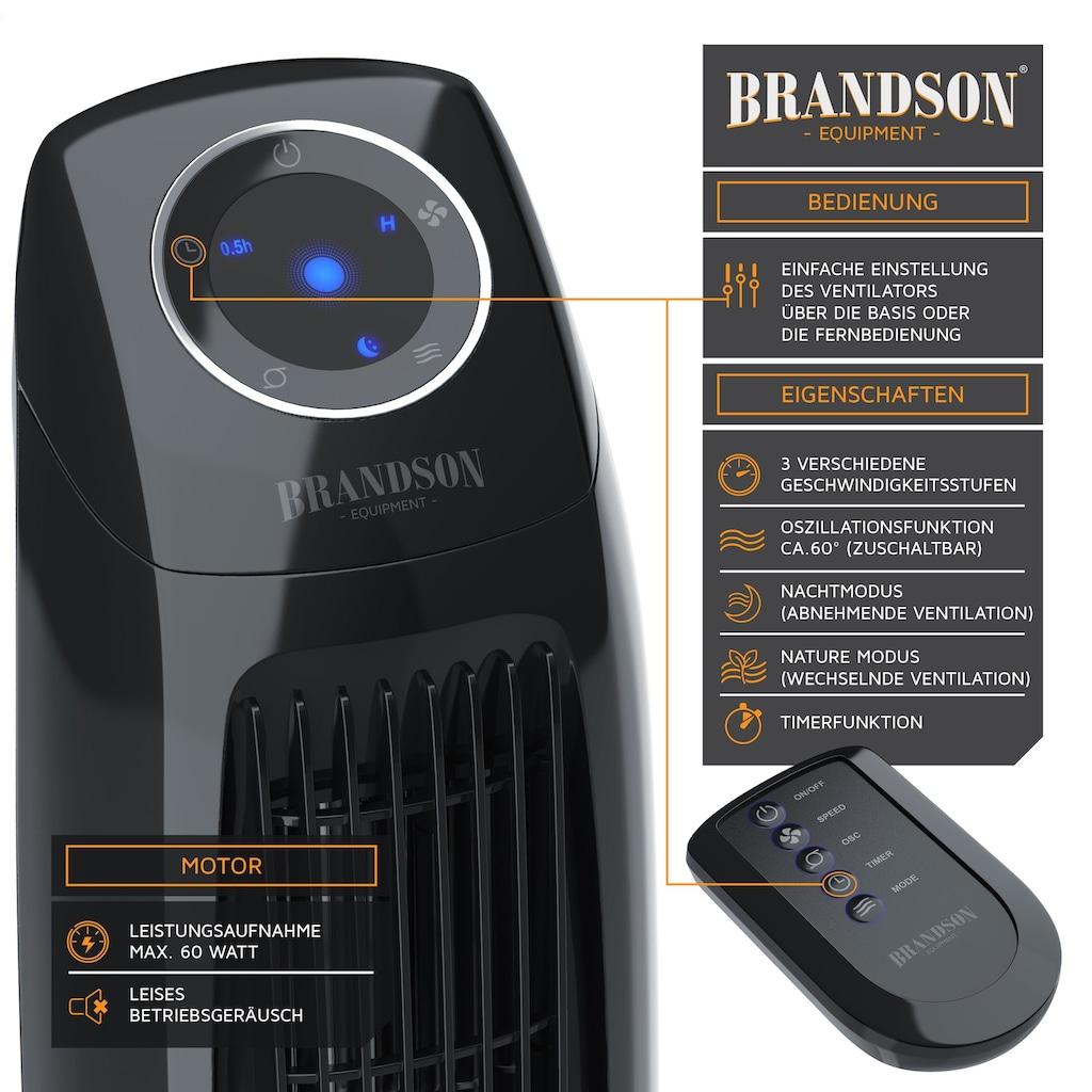 Brandson Turmventilator mit Fernbedienung, Timer & Oszillation