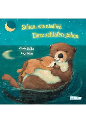 Buch »Schau, wie niedlich Tiere schlafen gehen / Katja Reider, Frauke Weldin« kaufen