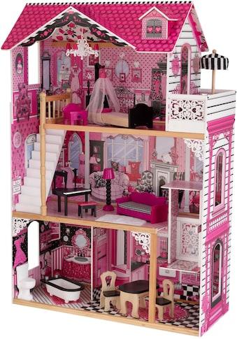 KidKraft® Puppenhaus »Amalia«, 3-stöckig, inkl. Möbel kaufen