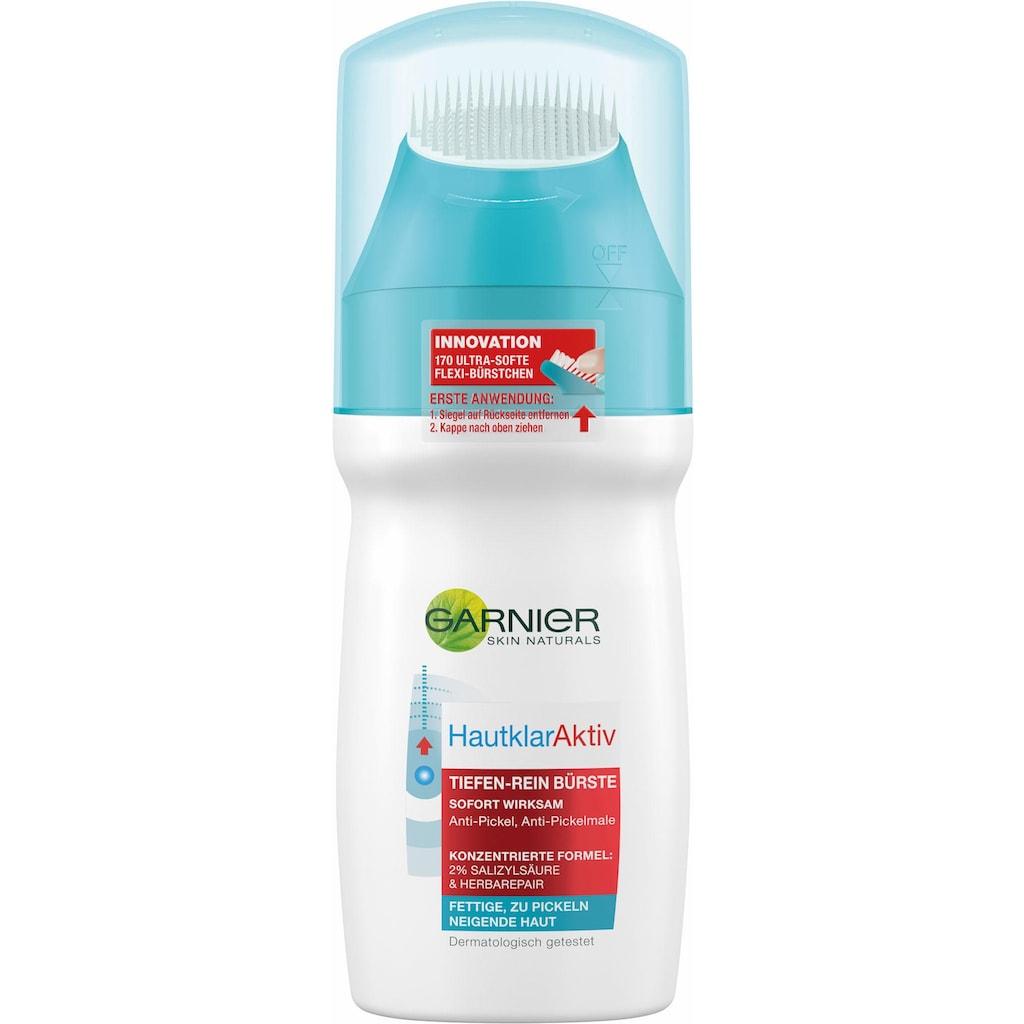 GARNIER Reinigungslotion »Hautklar Aktiv Tiefenrein Bürste«