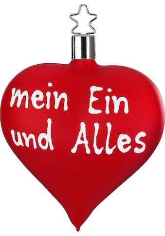 """INGE - GLAS® Christbaumschmuck """"mein Ein und Alles"""" (1 - teilig) kaufen"""