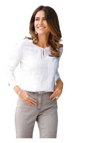Classic Basics Bluse mit tollen Verzierungen kaufen