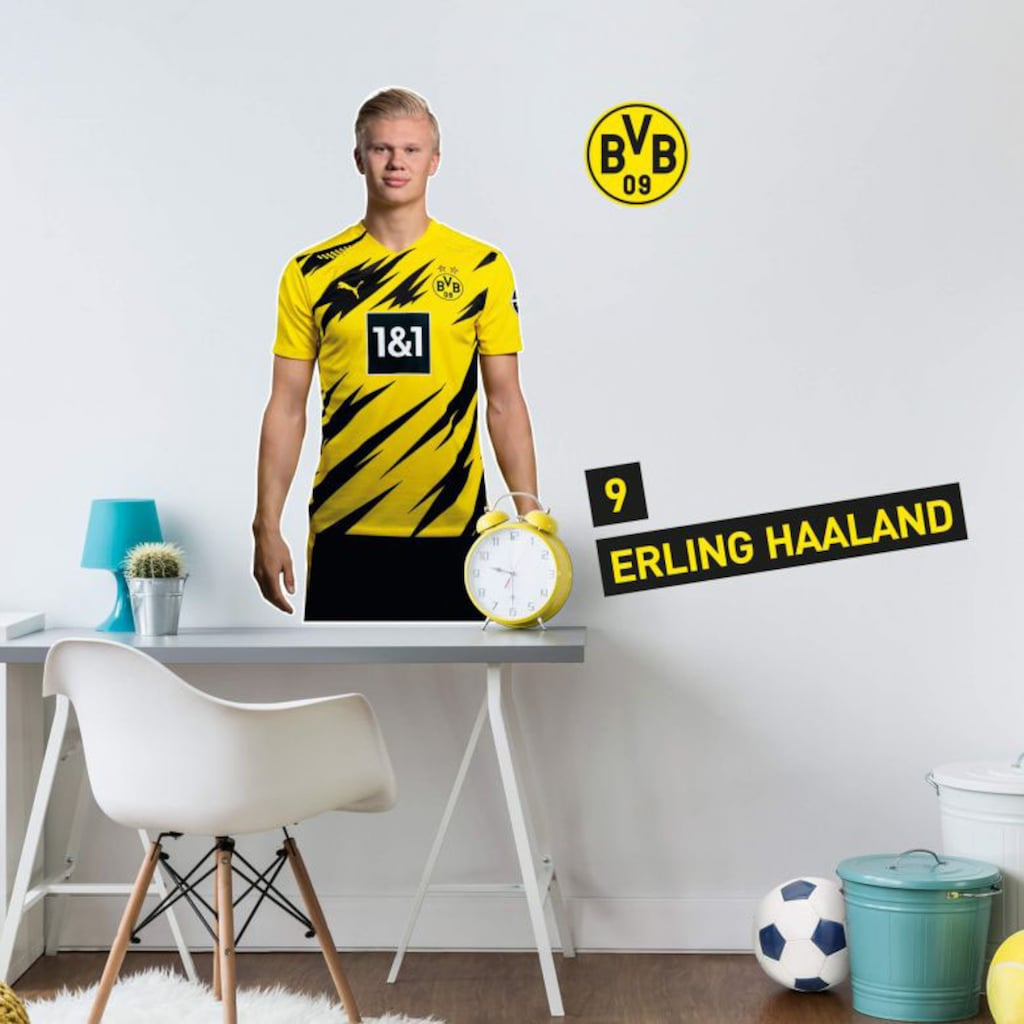 Wall-Art Wandtattoo »BVB Haaland Portrait 2020/2021«