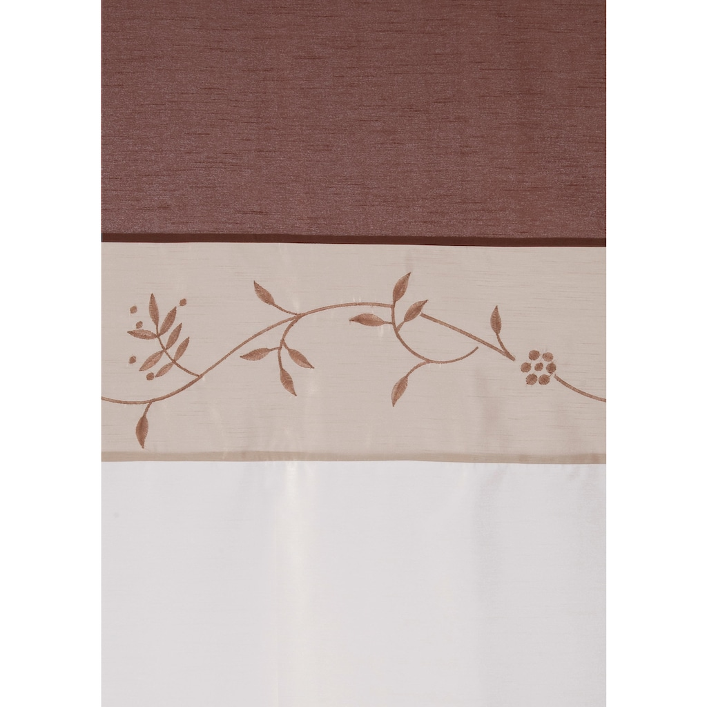 my home Vorhang »Sorel«, Gardine, Fertiggardine, halbtransparent
