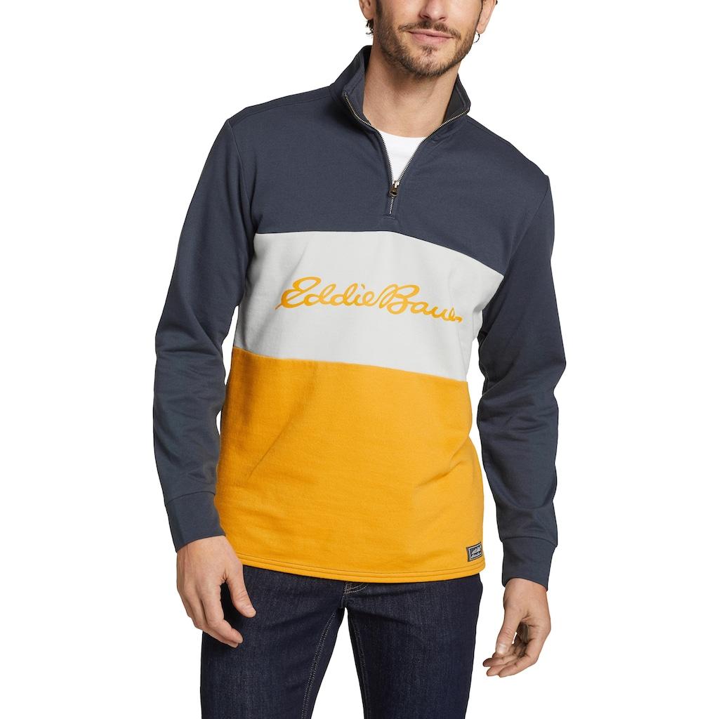 Eddie Bauer Sweatshirt, Camp Fleece - 1/4 Reißverschluss