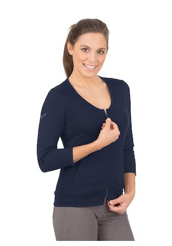 Trigema Jacke aus Baumwolle/Elastan kaufen