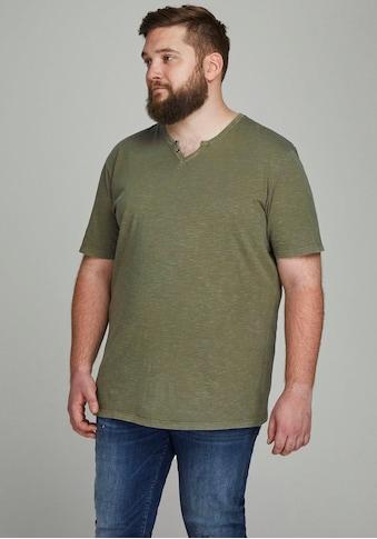 Jack & Jones V-Shirt »Split V Neck Shirt«, bis Größe 6XL kaufen