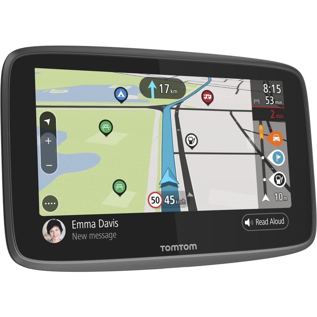TomTom Navigationsgerät »GO Camper World«, (Weltweit), Camper-Navigationsgerät