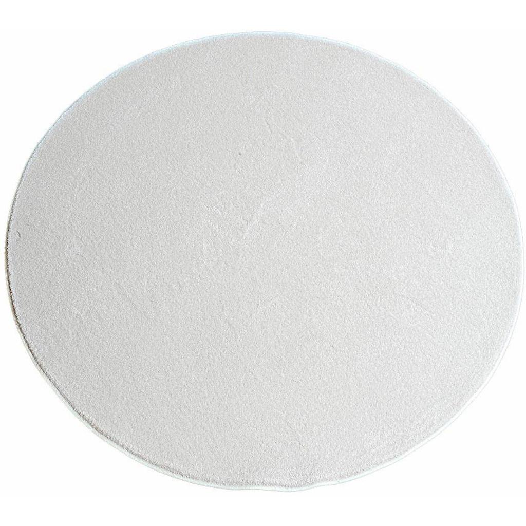 Living Line Teppich »Prestige«, rund, 16 mm Höhe, Velours, Wohnzimmer