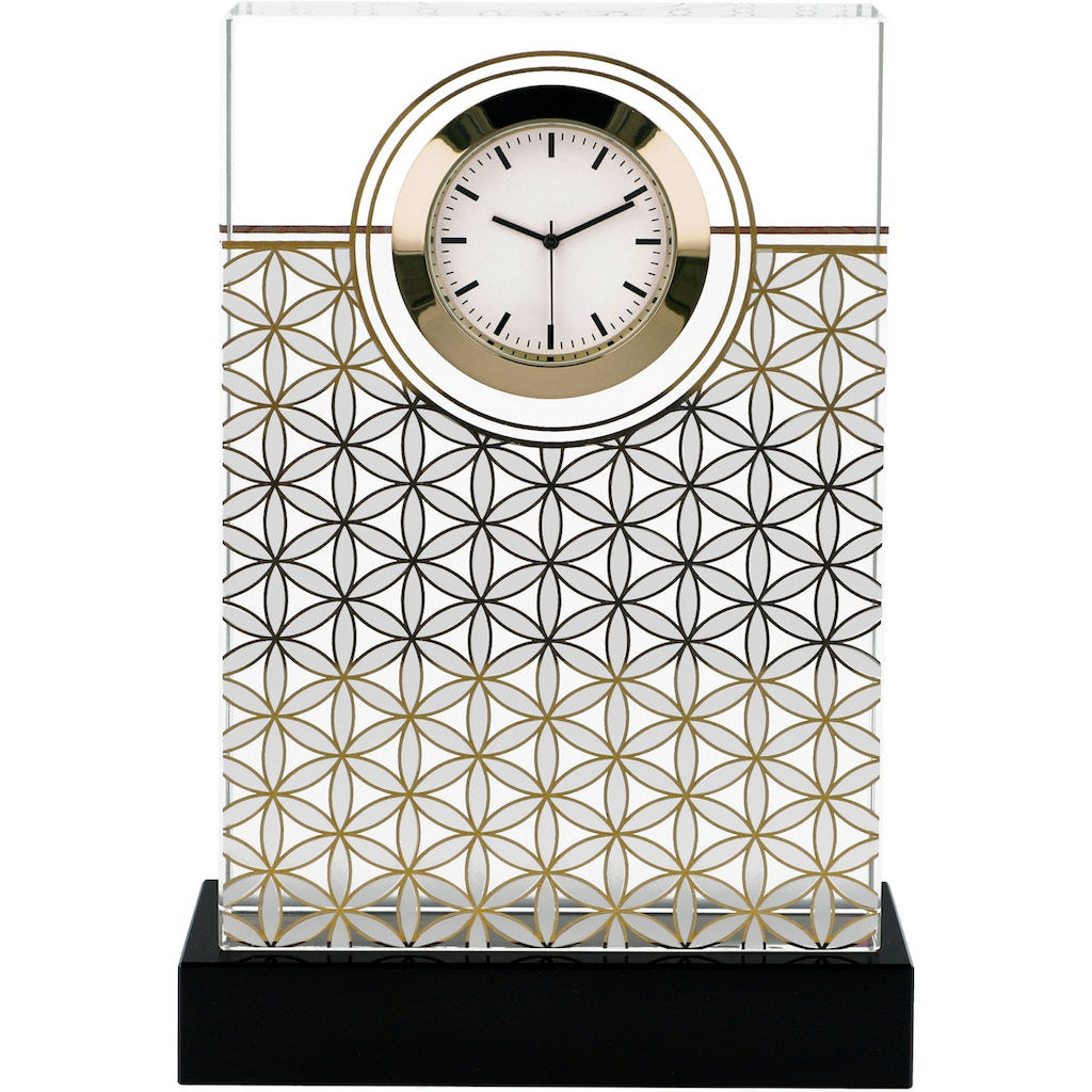 "Goebel Tischuhr »Lotus ""Blume des Lebens"", 23500461«"