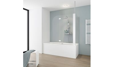 Schulte Badewannenaufsatz, BxHxT: 114,5 x 140 x 70 cm, mit Deckenverstrebung kaufen