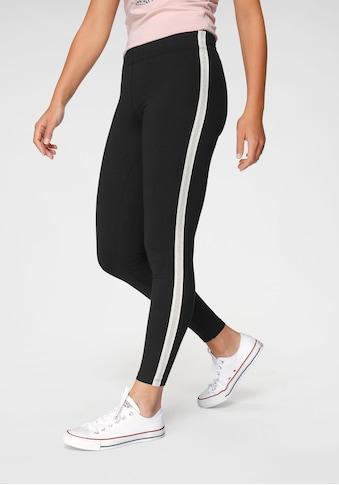Ocean Sportswear Leggings, mit Seitenstreifen in Metallic-Optik kaufen