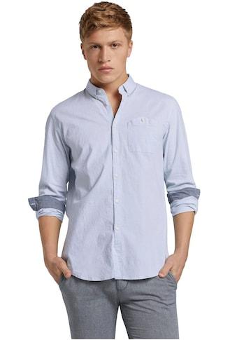 TOM TAILOR Denim Langarmhemd kaufen