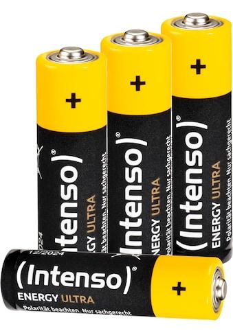 Intenso Batterie »Energy Ultra AA LR6«, (4 St.) kaufen