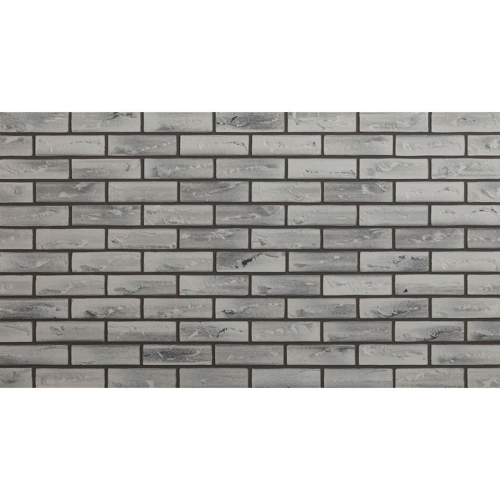 ELASTOLITH Verblender »Nebraska«, grau, für Außen- und Innenbereich, 1 m²