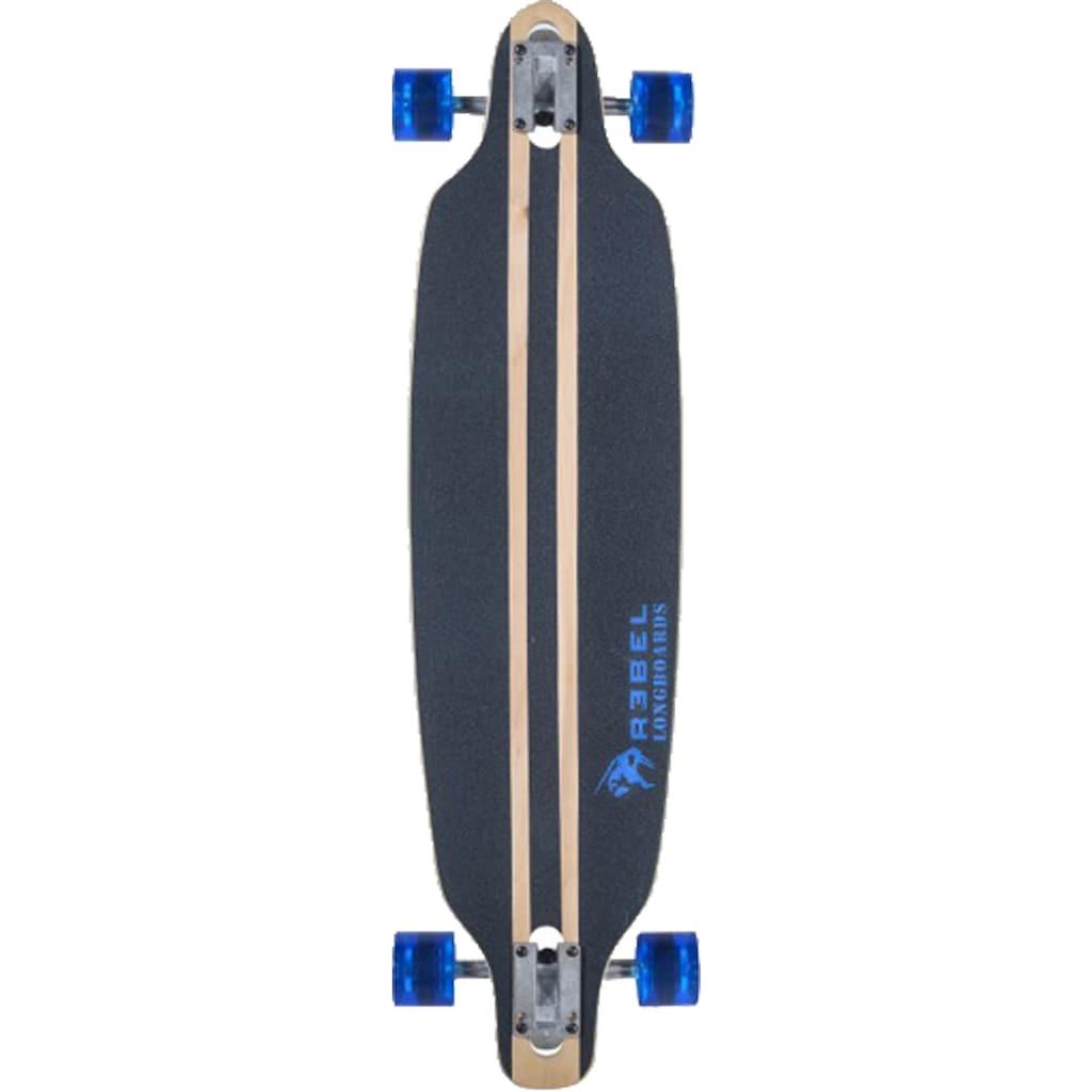 REBEL Longboard »Pacific Palisades blue«