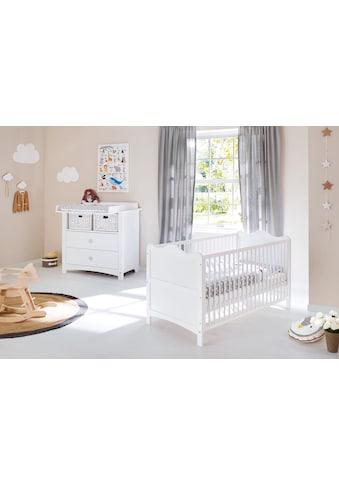 Pinolino® Babymöbel-Set »Florentina«, (Spar-Set, 2 St.), breit; Made in Europe; mit... kaufen