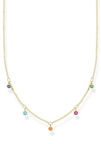 THOMAS SABO Silberkette »farbige Steine, KE2071 - 488 - 7 - L45v« kaufen