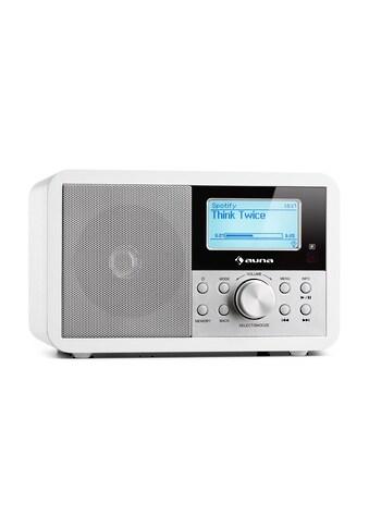 Auna Internetradio WLAN Radio Netzwerkplayer Radiowecker USB MP3 AUX kaufen