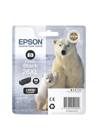 Epson Tintenpatrone XL Nr. 26XL kaufen