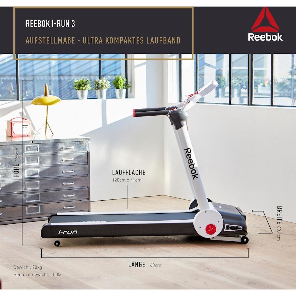 Reebok Laufband »i-Run 3«, Platzsparer, 100 % vormontiert