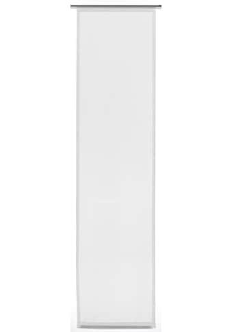 Schiebegardine, »Flächenvorhang Stoff Basic«, GARDINIA, Klettband 1 Stück kaufen