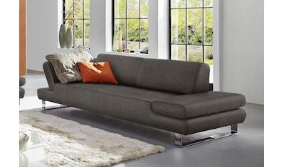 W.SCHILLIG 3-Sitzer »taboo«, mit Übertiefe, inklusive Armlehnenverstellung kaufen