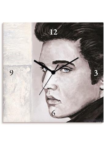 Artland Wanduhr »Hollywood Legenden II - Elvis Presley«, lautlos, ohne Tickgeräusche,... kaufen