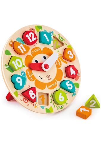 Hape Steckspielzeug »Steckpuzzle Uhr«, aus Holz kaufen