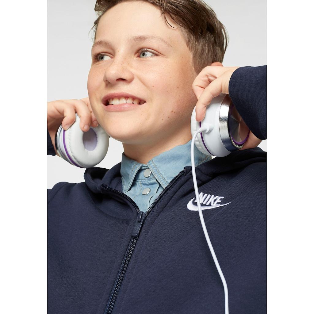 Nike Sportswear Kapuzensweatjacke »BOYS NIKE SPORTSWEAR HOODIE FULLZIP CLUB«