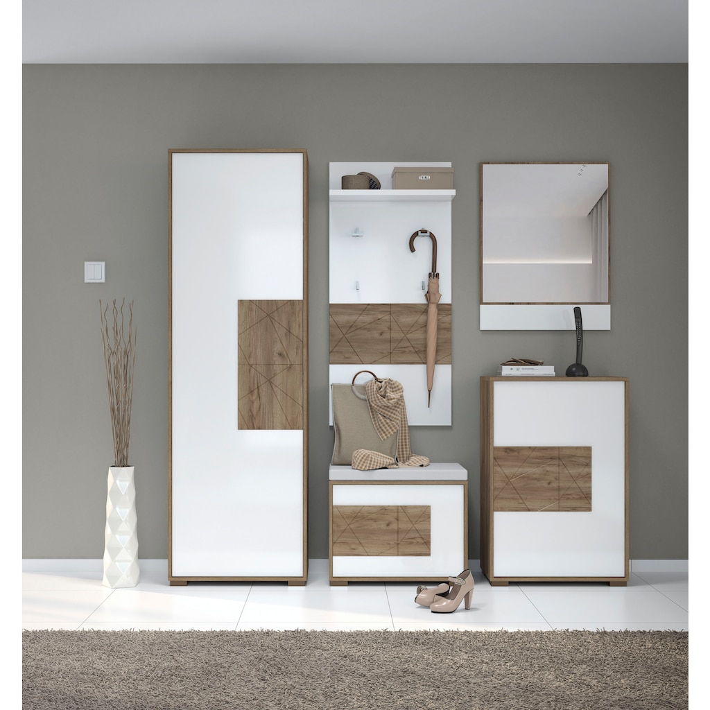 Places of Style Garderobenschrank »Stela«, mit Push-to-open-Funktion