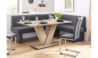 Eckbank »Nils«, Sitz und Rücken gepolstert, verschiedene Qualitäten kaufen