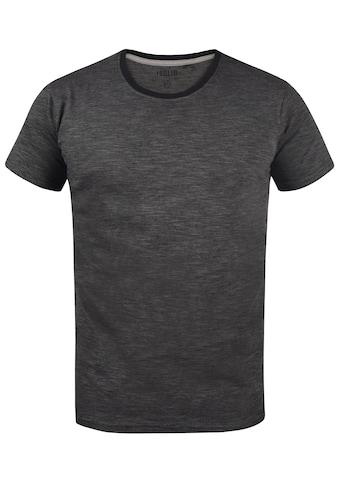 Solid T-Shirt »Ned«, T-Shirt in Melangelook kaufen