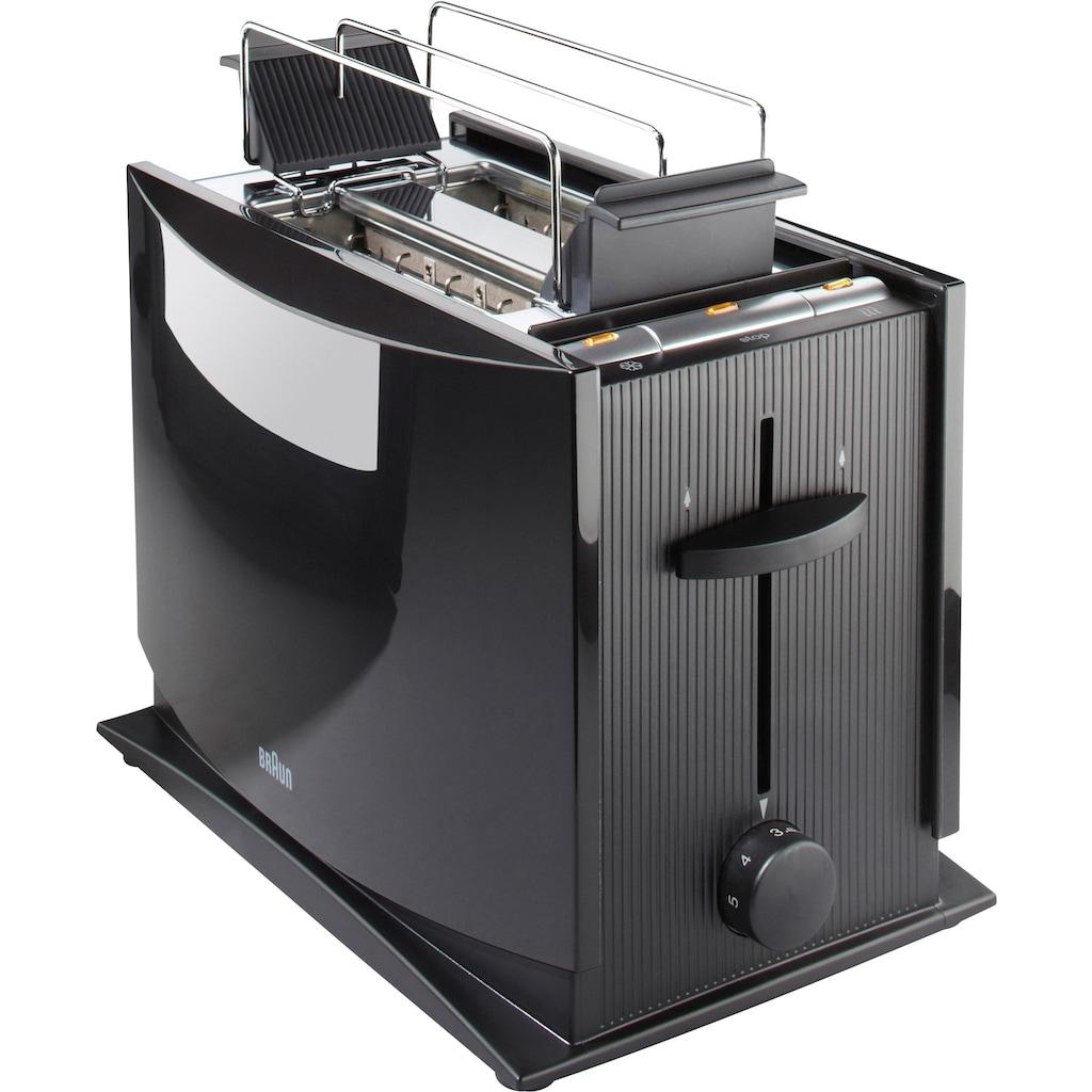 Braun Toaster »Multiquick 3 HT 450«, 2 kurze Schlitze, 950 W