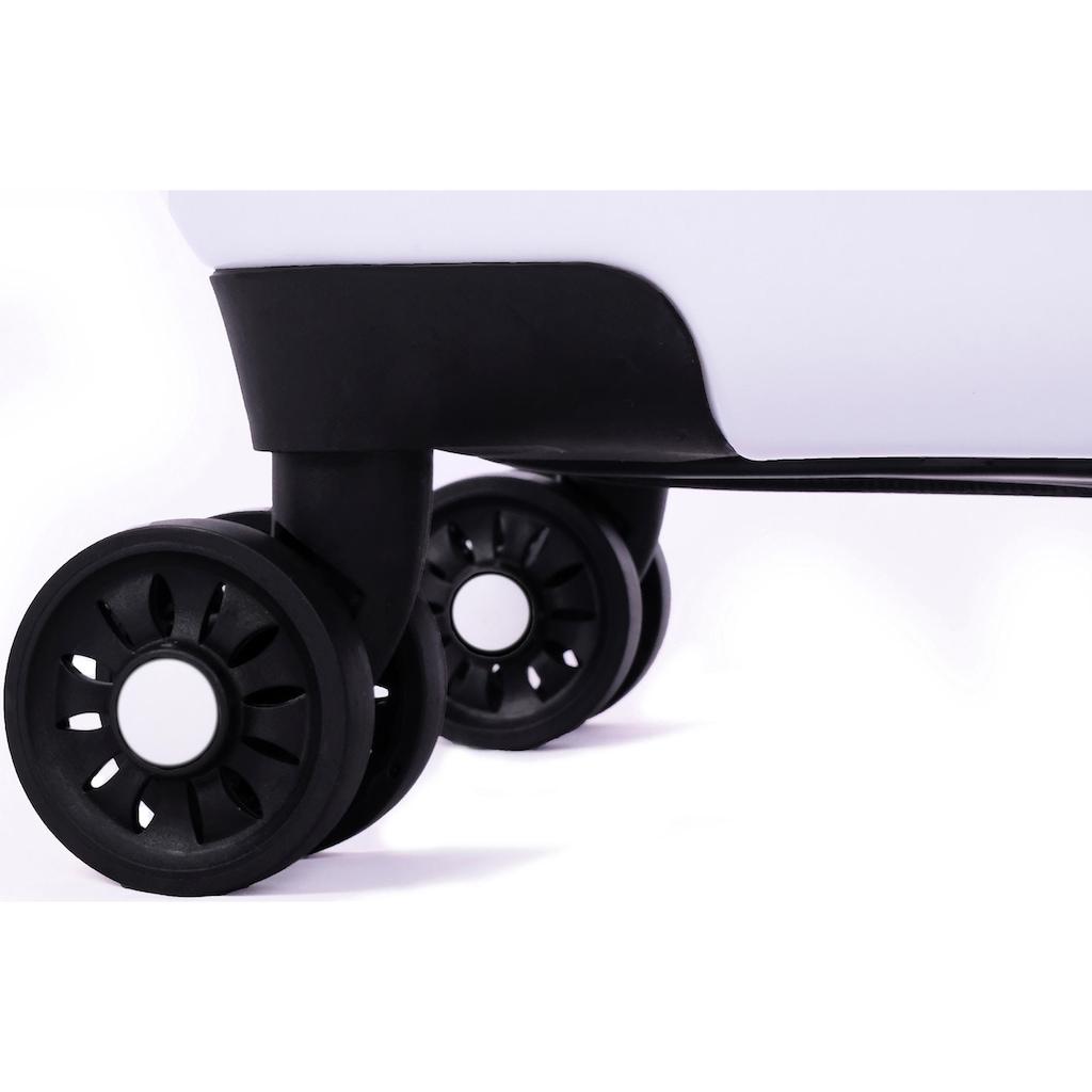 meinTrolley Hartschalen-Trolley »New York, 55 cm«, 4 Rollen, Made in Germany