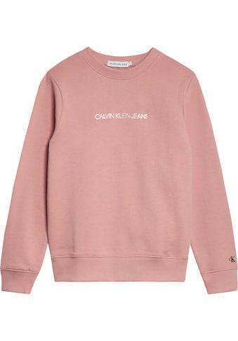 Calvin Klein Jeans Sweatshirt »METALLIC CHEST LOGO« kaufen