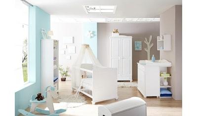 Ticaa Babyzimmer-Komplettset »Adam«, (Set, 5 St.), Bett + Wickelkommode + Schrank +... kaufen