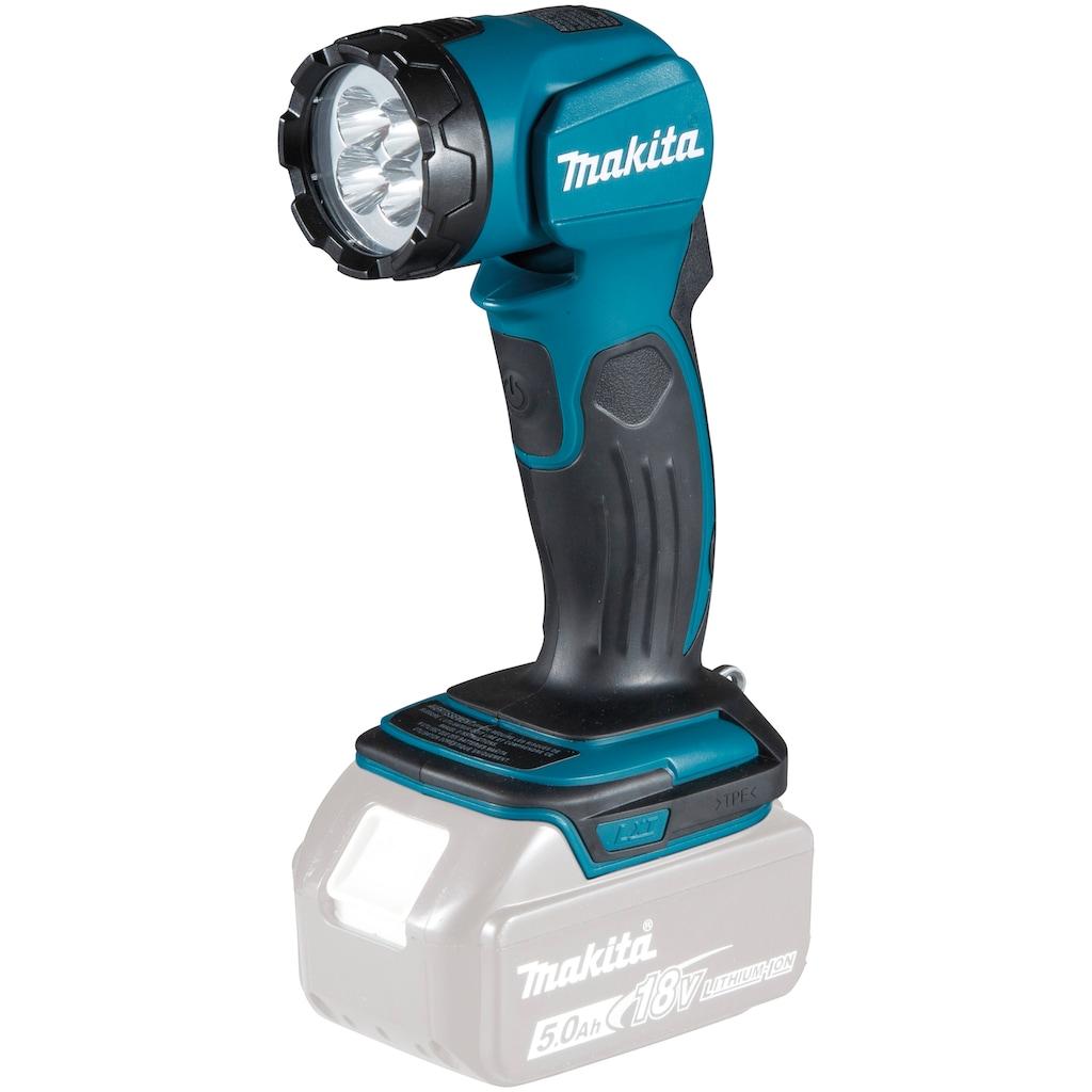 Makita LED Arbeitsleuchte »DEADML815«, LXT, 3.000 lx, 160 lm, ohne Akku und Ladegerät
