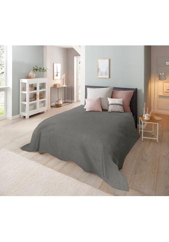 Home affaire Tagesdecke »Melli«, auch als Tischdecke und Sofaüberwurf einsetzbar kaufen
