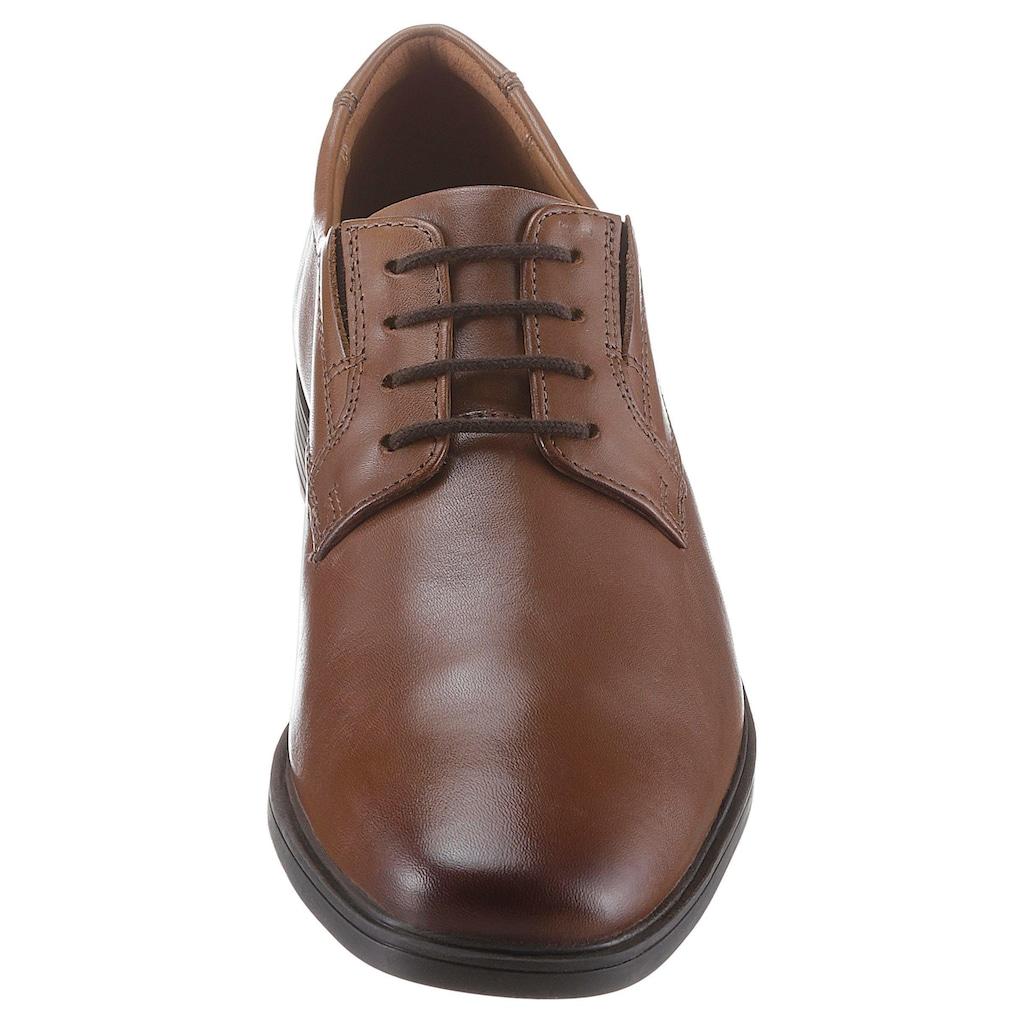 Clarks Schnürschuh »Tilden_Plain«, mit komfortablem Fußbett