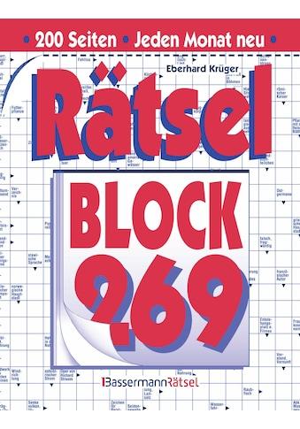 Buch »Rätselblock 269 (5 Exemplare à 2,99 EUR) / Eberhard Krüger« kaufen