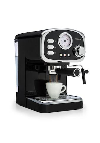 Klarstein Espressionata Gusto Espressomaschine 1100W 15 Bar kaufen