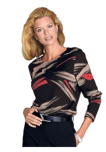 Classic Shirt im attraktiven Allover - Dessin kaufen